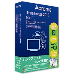 True Image 2015 for PC �ʏ�� 1���C�Z���X