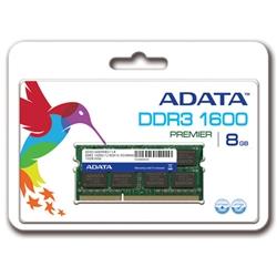 【クリックで詳細表示】メモリ 8GB DDR3-1600 SO-DIMM リテールパッケージ AD3S1600W8G11-R