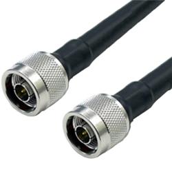 【クリックでお店のこの商品のページへ】低損失同軸ケーブル 50Ω N型プラグ/N型プラグ CA-400 φ10.29mm 10m ACO-NP/NP-400-10
