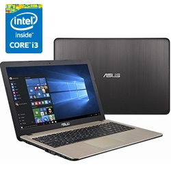 ASUS K540LA NTT-X Store���胂�f�� (15.6�^���C�h/Windows10 Home 64bit/Core i3) �u���b�N/�V�����p���S�[���h K540LA-XX083T