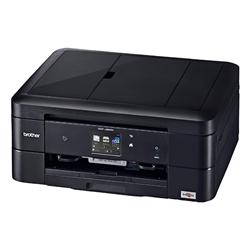 A4インクジェット複合機/黒モデル/10/12ipm/両面印刷/有線・無線LAN/ADF/手差し/レーベル印刷 DCP-J963N-B