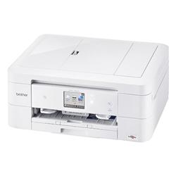 A4インクジェット複合機/白モデル/10/12ipm/両面印刷/有線・無線LAN/ADF/手差し/レーベル印刷 DCP-J963N-W