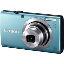 【クリックで詳細表示】デジタルカメラ PowerShot A2400 IS (ブルー) 6190B004