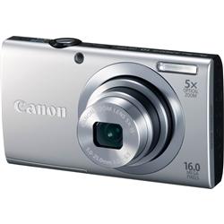 【クリックで詳細表示】デジタルカメラ PowerShot A2400 IS (シルバー) 6183B004