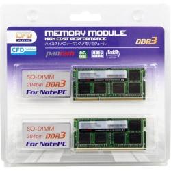 �m�[�gPC�p PC3-12800 CL11 8GB×2���g 1.35V  DDR3 W3N1600PS-L8G