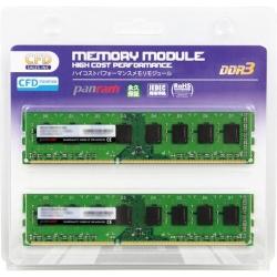 �f�X�N�g�b�v�p PC3-10600 CL9 4GB×2���g  DDR3 W3U1333PS-4G