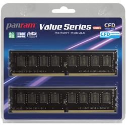 CFD-Panram �f�X�N�g�b�v�p DDR4 PC4-17000 4GB 2�� W4U2133PS-4G