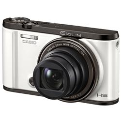 カシオ デジタルカメラ HIGH SPEED EXILIM ホワイト EX-ZR3000WE