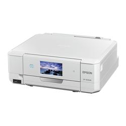 A4インクジェットプリンター/カラリオ多機能/作品印刷機能(カラー)/Wi-Fi Direct/スマホ対応(Epson iPrint)/4.3型ワイドタッチパネル&フリック操作/ホワイト EP-808AW