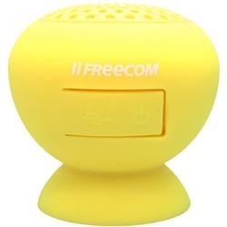 【クリックで詳細表示】スマホ対応 Bluetooth防水ワイヤレススピーカー Tough Speaker Yellow DJ JP 37202