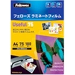 【クリックで詳細表示】ラミネートフィルム 5328201 A4サイズ用 75ミクロン 100枚入り LF-USF-A4-100