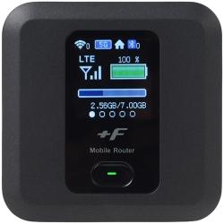 【箱汚れ】SIMフリー モバイルWiFiルーター LTE 11ac対応 +F FS030W FS030WMB1