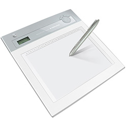 10型 ワイヤレスペンタブレット ホワイト GH-PTB10W