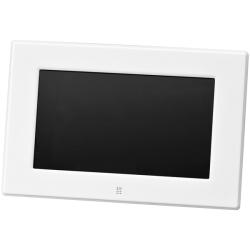 7インチ デジタルフォトフレーム(800*480) ホワイト GH-DF7V-WH