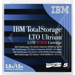 【クリックで詳細表示】LTO5テープカートリッジ 1.5TB/3.0TB WORM 46X1292