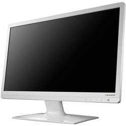 ブルーライト低減機能付き HDMI端子搭載 23.6型ワイド液晶ディスプレイ 白 LCD-MF243EWR