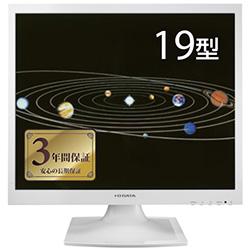 �u�u���[���_�N�V�����v���� LED�o�b�N���C�g�̗p 19�^�X�N�G�A�t���f�B�X�v���C �z���C�g 5�N�ۏ� LCD-AD191SEW
