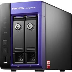 【クリックで詳細表示】WD Red搭載 Windows Storage Server 2008 R2 Workgroup Edition 2ドライブNAS 6TB HDL-Z2WS6C