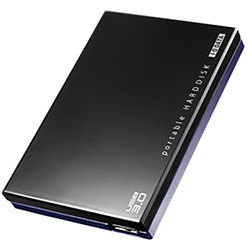 USB3.0 TV録画対応ポータブルHDD 9.5mm薄型ドライブ採用 2TB ブラック HDPE-UT2.0