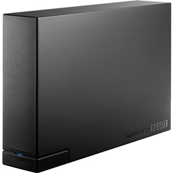 USB 3.0/2.0対応 外付ハードディスク ブラック 1TB HDCL-UT1.0KC