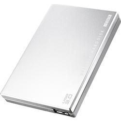 USB3.0/2.0対応 ポータブルハードディスク 「超高速カクうす」 シルバー 500GB HDPC-UT500SE