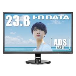 23.8型ワイド液晶ディスプレイ ADS広視野角パネル (3年フル保証/超解像機能/フルHD/HDMI/ブルーリダクション/フリッカーレス/オーバードライブ機能搭載) EX-LD2381DB