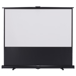 床置きモバイルスクリーン幕面ホワイトマット仕様80型(16:9)ハイビジョンサイズ GUP-80HDW