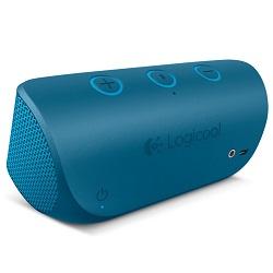 ロジクール x300 モバイル ワイヤレス ステレオ スピーカー ブルー X300BL