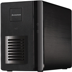 【クリックでお店のこの商品のページへ】Lenovo Iomega ix2 Network Storage 2-Bay Diskless 70A69003AP