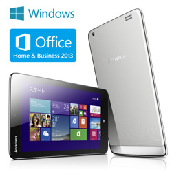 Lenovo Miix 2 8 (Atom Z3740/2G/64G/8.0/Win8.1(32)/Office Home and Business 2013) 59399891