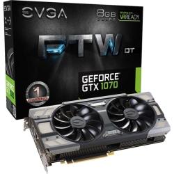 EVGA GeForce GTX 1070 FTW DT GAMING ACX 3.0 �O���t�B�b�N�{�[�h 08G-P4-6274-KR