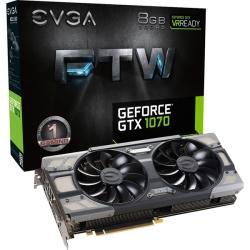 EVGA GeForce GTX 1070 FTW GAMING ACX 3.0 �O���t�B�b�N�{�[�h 08G-P4-6276-KR