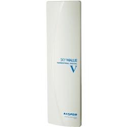 垂直偏波用 壁面取付用UHFアンテナ SKYWALLIE ウォームホワイト U2SWLV