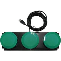 インタラクティブ機能対応ボタン DP-6BTN3-G