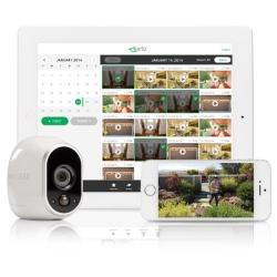 Arlo 100%ワイヤレス電池駆動ネットワークカメラ(増設用カメラ1台) 防犯対策 家族 ペット見守り スマホで簡単設定 -繋いで、おとして、プッシュ- VMC3030-100JPS