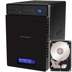 ReadyNAS 104  4ベイ 2TBx4【NAS専用HDD搭載モデル】 RN10400-8TB04-ST