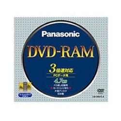 DVD-RAMディスク 4.7GB(片面/3倍速) カートリッジ付 LM-HB47LA