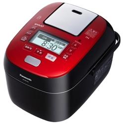 スチーム&可変圧力IHジャー炊飯器 1.0L 5.5合 (ルージュブラック) SR-SPX105-RK