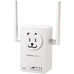 11ac/n/a/g/b対応 433Mbps+300Mbps コンセント直挿型 無線LAN中継機 「忠継大王」 MZK-EX750NP