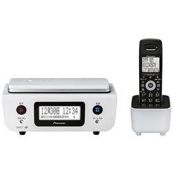 デジタルフルコードレス留守番電話機 子機1台タイプ ピュアホワイト TF-FD31W-W