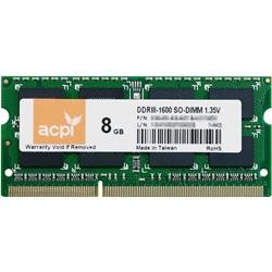 ACPI�� �m�[�gPC�p������ 204pin DDR3-1600(PC3-12800)�Ή� SO-DIMM 8GB MMA31611SL-8
