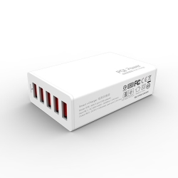Smart i-Charger 40W 8A 5ポート (ホワイト) ACS40WH