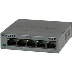 【箱汚れ/新品/未開封】GS305 ギガビット5ポートLayer2アンマネージ・スイッチ GS305-100JPS
