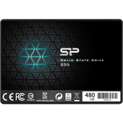【SSD】SATA3準拠6Gb/s 2.5インチ 7mm 480GB SP480GBSS3S55S25