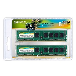 Silicon Power SP008GBLTU160N22DA [DDR3 PC3-12800 4GB 2���g]
