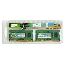 Silicon Power SP008GLSTU160N22DA [SODIMM DDR3L PC3-12800 4GB 2枚組]