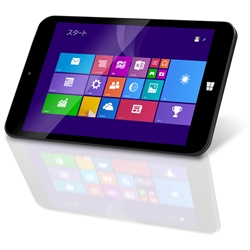geanee 7�C���` Windows8.1 with Bing �^�u���b�gPC WDP-072-1G16G-BT