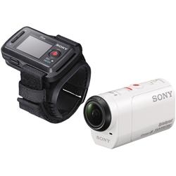 デジタルHDビデオカメラレコーダー アクションカム ライブビューリモコン付 HDR-AZ1VR/W