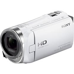 デジタルHDビデオカメラレコーダー Handycam CX480 ホワイト HDR-CX480/W