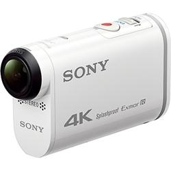 デジタル4Kビデオカメラレコーダー アクションカム ライブビューリモコン付 FDR-X1000VR/W